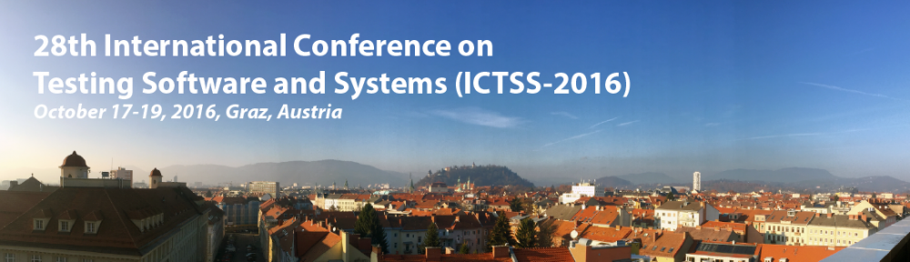 28th International Conference on Software and Systems (ICTSS-2016)